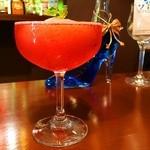 seasonal bar Nanairo - いちごフローズン・カクテル