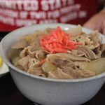 味乃やまびこ - 料理写真:牛丼セット 牛丼