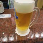 28433925 - 食べログクーポンでビール一杯無料になりました♪ おおきに♪