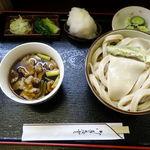 茂七 - 肉汁うどん 800円