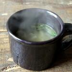 ジャンゴ - 7種の野菜スープはコクがあり、うまみたっぷり