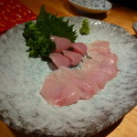 焼鶏処 田楽 - 140512 ささみとムネの刺身