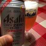 薪釜屋 ciao - 2014/06 え!缶ビール?