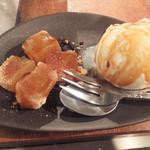 ぼちぼち - アイスとわらび餅