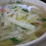 むつみ中華 - ほとんど白菜