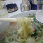 むつみ中華 - 麺