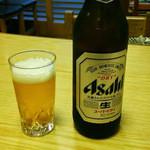 もとやくし食堂 - ビール大瓶