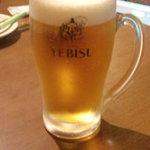 ミスターデンジャー - 生ビール(350円)
