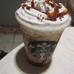 スターバックス・コーヒー - マーブルキャラメルコーヒーゼリーフラペチーノ(570円)