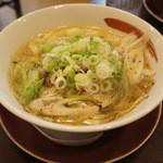 拉麺本家夢屋 - 鳥取ネギ盛ラーメン
