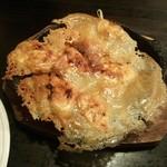 中華麺食堂かなみ屋 - 名物鉄鍋羽根付き一口餃子