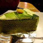 エミール・パコ - 抹茶ケーキ:ケーキセット:750円