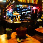 エミール・パコ - 湯気がでてる~アツアツのコーヒーぜんざい単体は490円