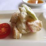 チャイニーズ 芹菜 - 前菜(スパイシーポテトサラダ)