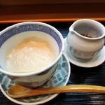 28446388 - ①胡麻豆腐。