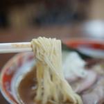 かづ屋 - 麺のアップ