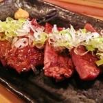 炭火串文化 あぶりや - 【クォリティUPしました】 仙台牛タン 780円! 仙台の有名牛タン専門店と同じ、もしくはそれ以上?、こだわりの霜降りは、厚くて柔らかいです!