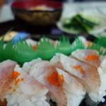 三河屋 - 魚屋さんのお好み寿司(のどぐろ)¥480-