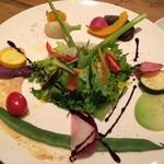 パプリカ食堂ヴィーガン - 色鮮やかな美味しいお野菜たち大集合〜♫
