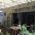 パプリカ食堂ヴィーガン - オープンテラスもあります