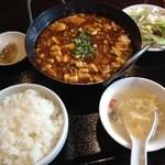 香香楼 - 料理写真:香香麻婆豆腐定食850円