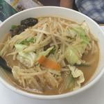 ラーメンとん太 - 野菜味噌ラーメン 800円(税抜)