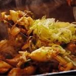 だるま - 鶏ちゃん焼き <塩・味噌・たれ・カレー>