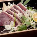 日本海庄や - 料理写真:かつお塩たたき