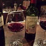 コルドーネ - グラス赤ワイン×2