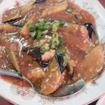安記 - マーボ茄子定食