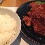 洋食の店 もなみ - Cセット(¥1450)
