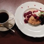 Monkashetto - 6月のスイーツセット(Very Berry)1000円