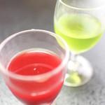 割烹 ささ川 - すっぽん生血&胆汁