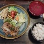 みくり食堂 - 本日の定食1100円