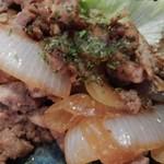 みくり食堂 - 豚肉のしょうが焼き