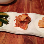 焼肉 慶金 - 料理写真:キムチ盛り合わせ