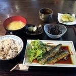 Wasaichuuboukatsura - 本日の日替り(お魚)、イワシかば焼