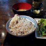Wasaichuuboukatsura - 十穀米ご飯、お代わり