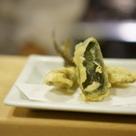 おぐ羅 - 稚鮎の天ぷら