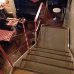ジムノペティ - 階段