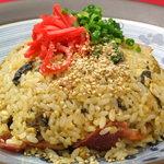 ミヤビ - 辛子高菜のチャーハン