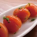 スペインバルエルソル - プチトマトのピクルス