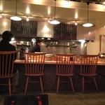 蕎麦cuisine hayakawa - 店内もおしゃれです。