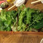 28472013 - 島豚セットに付いてくる野菜サラダセット