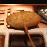 六波羅 - 蓮根 肉詰め (ウースター ソースで) (2014/06)