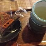 門前茶屋おもろ庵 - 昆布茶(350円)