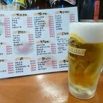 全国珍味・名物 難波酒場 - 2014.07 生ビールは300円です。