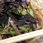 新大宮 中華のサカイ - 新大宮 中華のサカイ 本店の焼豚冷麺1100円(13.10)