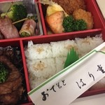28479387 - 洋風弁当 はり重 道頓堀本店 ('14/6)