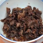赤いひつじ - 牛のしぐれ煮